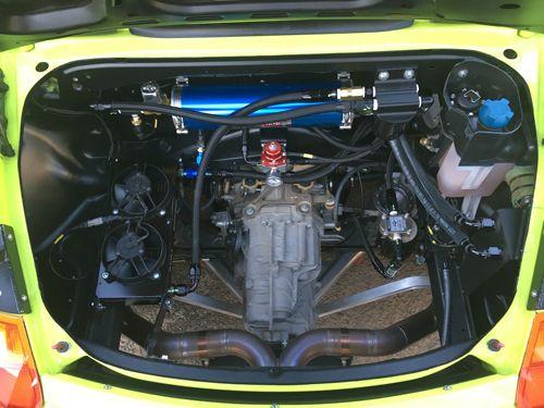 موتور پورشه باکستر